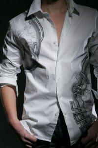 Мужские рубашки с рисунком Мужской.